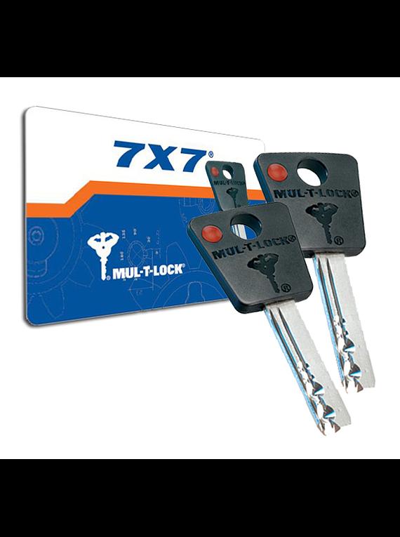 Copia de llave MUL-T-LOCK 7X7