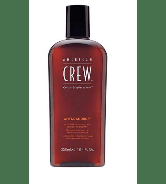 Americam Crew Shampoo Anticaspa y Acondicionador