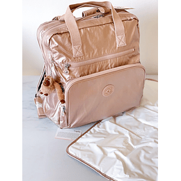 Baby Bag Audrie Quartz Metallic