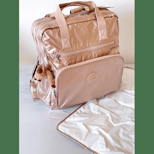 Baby Bag Audrie Quartz Metallic