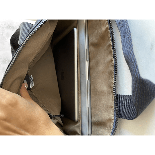 Elsil Satin Camo Blue Porta Notebook