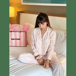 Conjunto Pijama Franela Victoria's Secrets