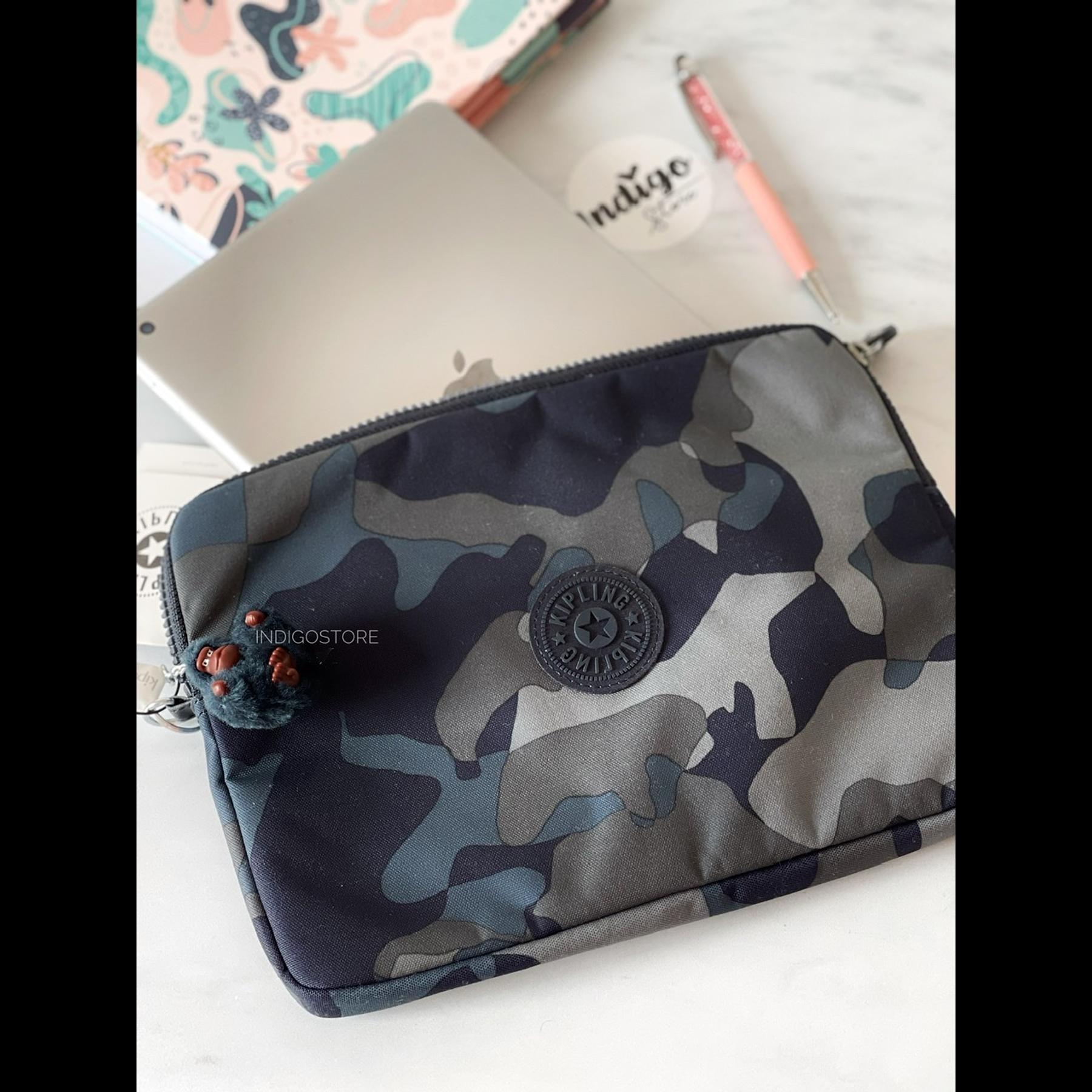 Porta iPad Lux Camo Blue