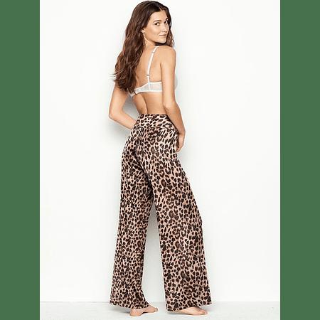Pantalon Animal print Modal