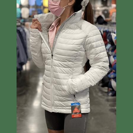 Parka Omni-heat Blanca Mujer