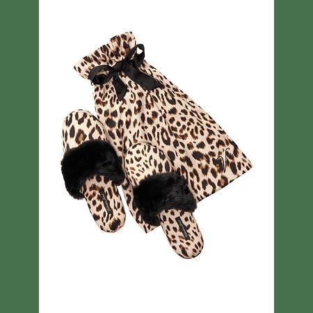 Pantuflas animal print