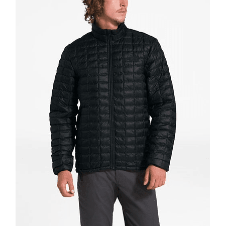 Parka Thermoball Eco Black Matte Hombre