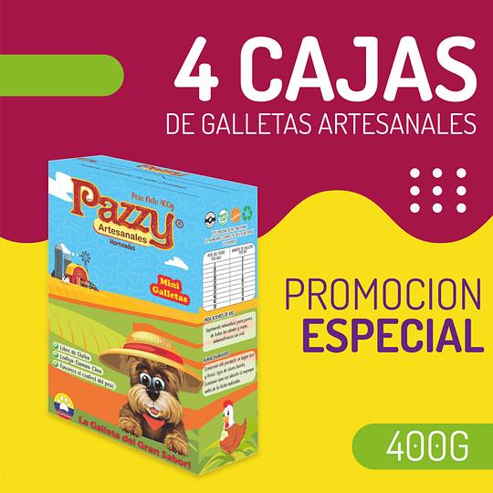 4 Cajas de galletas Artesanales por 400g - Image 1