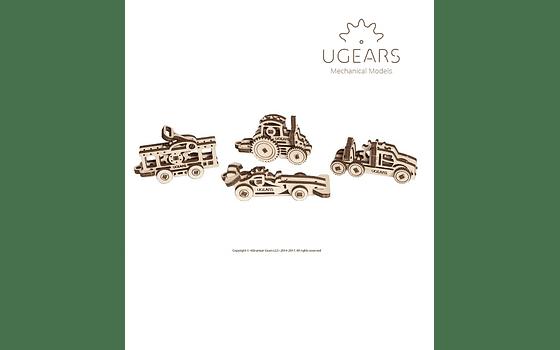 U-Fidgets Vehicles Collection