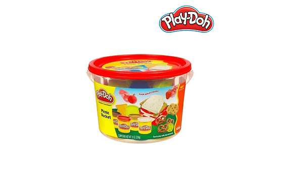 MINI CUBERA PLAY DOH – PICNIC BUCKET