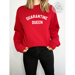 PULLOVER QUARANTINE QUEEN
