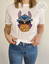 TEE CARTOON / STITCH PUMPKIN