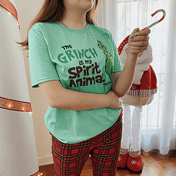 TEE UNISEX / GRINCH IS MY SPIRIT ANIMAL