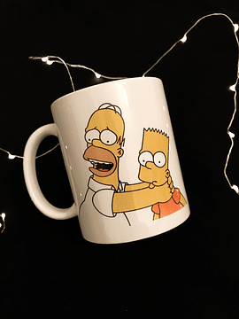 TAZON HOMERO Y BART