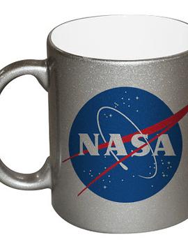 TAZA SILVER NASA