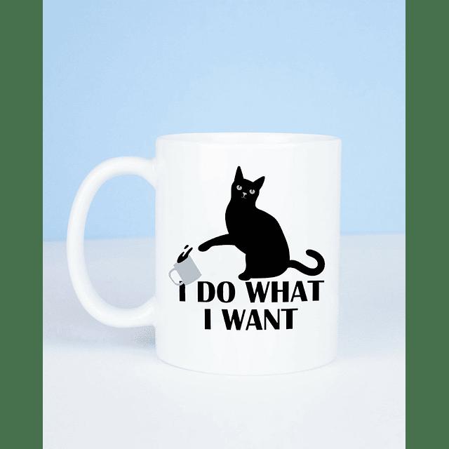 Taza black cat