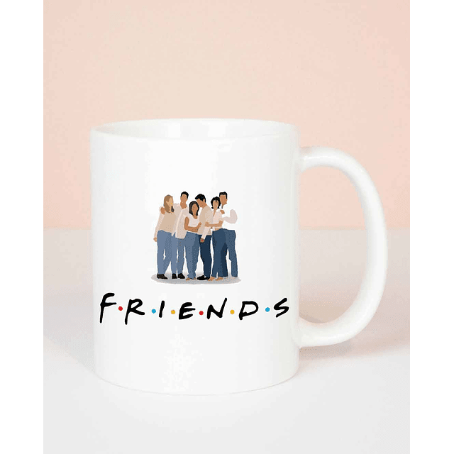 Taza Friends Personajes