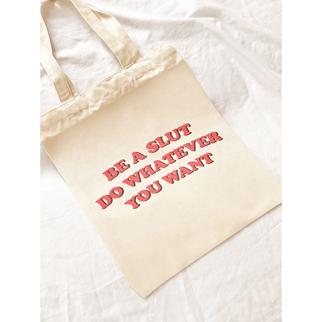 TOTE BAG Do whatever you want