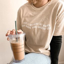TEE UNISEX / Iced coffee tee