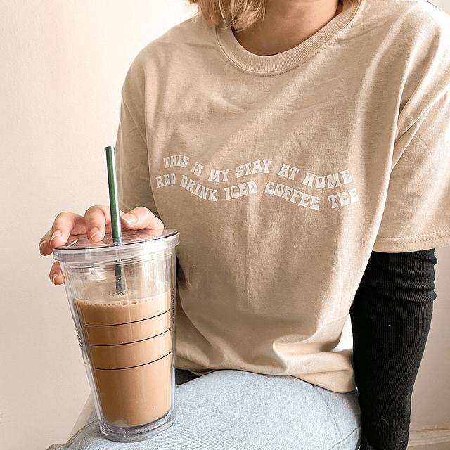 TEE UNISEX / Iced coffee tee