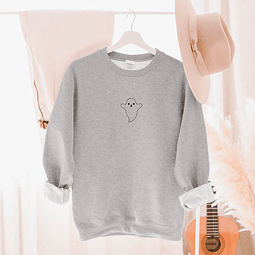 Pullover boo gris