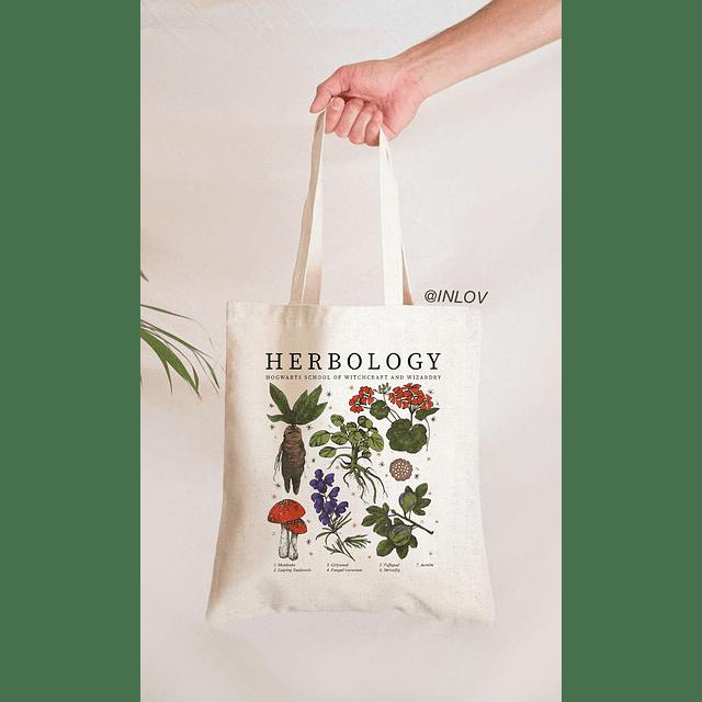 Tote Bag Herbology Harry Potter