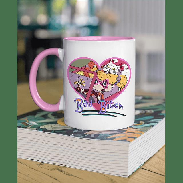 Taza Angelica Pickles mango color