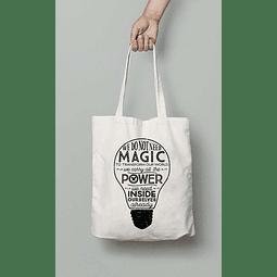 TOTE BAG MAGIC HARRY POTTER