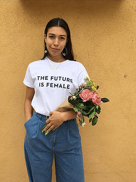 TEE UNISEX THE FUTURE IS FEMALE