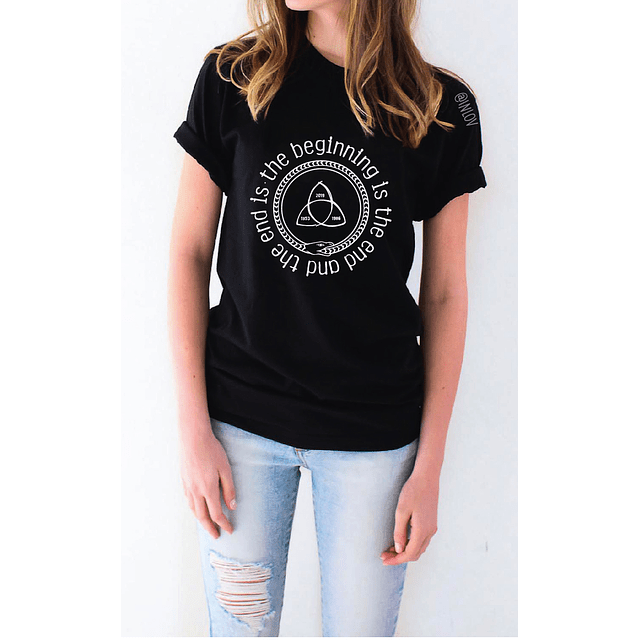 TEE UNISEX BEGINNING IS THE END