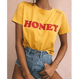 TEE UNISEX HONEY AMARILLA