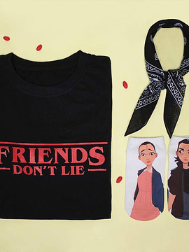 TEE UNISEX FRIENDS DONT LIE