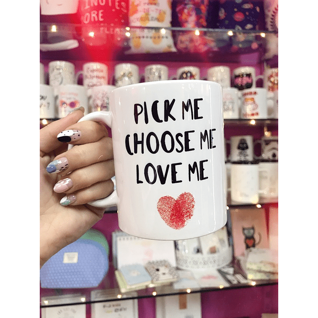 TAZON PICK ME CHOOSE ME LOVE ME