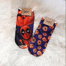 Calcetín Marvel Halloween