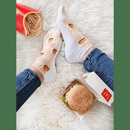 Calcetín hamburguesas