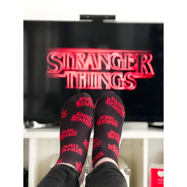 CALCETÍN STRANGER THINGS