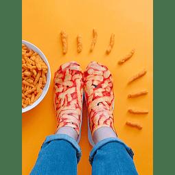 Calcetín cheetos