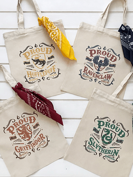 TOTE BAG HOGWARTS HOUSES
