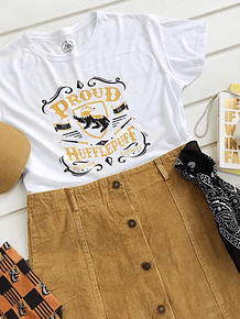 TEE CARTOON / HUFFLEPUFF