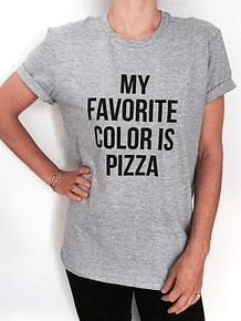 TEE UNISEX / FAVORITE COLOR PIZZA