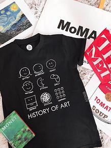 TEE UNISEX / HISTORY OF ART