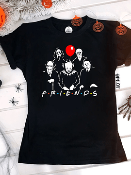 TEE UNISEX / HALLOWEEN FRIENDS