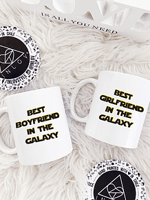 PACK 2 TAZAS COUPLE STAR WARS