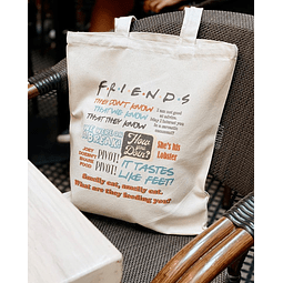 TOTE BAG FRIENDS