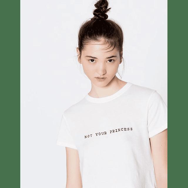 TEE UNISEX / NOT YOUR PRINCESS