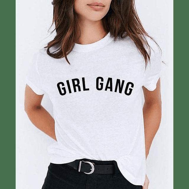 TEE UNISEX / GIRL GANG