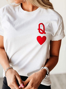 TEE UNISEX / QUEEN OF HEARTS