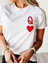 TEE UNISEX / QUEEN OF HEARTS