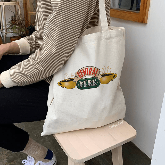 TOTE BAG CENTRAL PERK