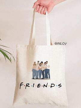 TOTE BAG FRIENDS PERSONAJES